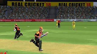 17th April Sunrisers Hyderabad vs Chennai Super Kings IPL 12 Real Cricket 2019 full Gameplay