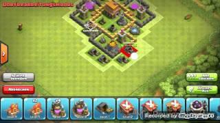 Clash of Clans Beste Verteidigung Rathaus level 5