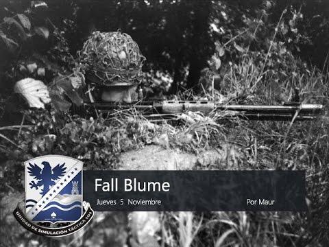 """UST101 - WWII - """"Operación Fall Blume"""""""