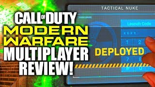My HONEST REVIEW of Modern Warfare's Multiplayer... (DOES IT SUCK? Full Release Review)