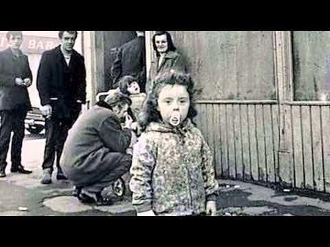 Gorbals children..
