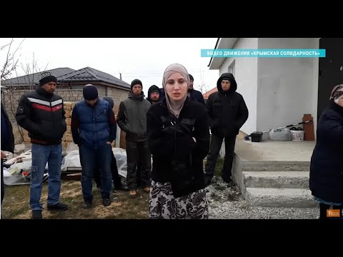 Обыски в домах крымских татар