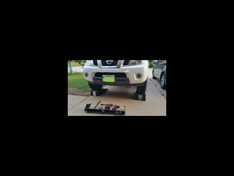 Nissan Frontier Front Receiver Hitch installed.........