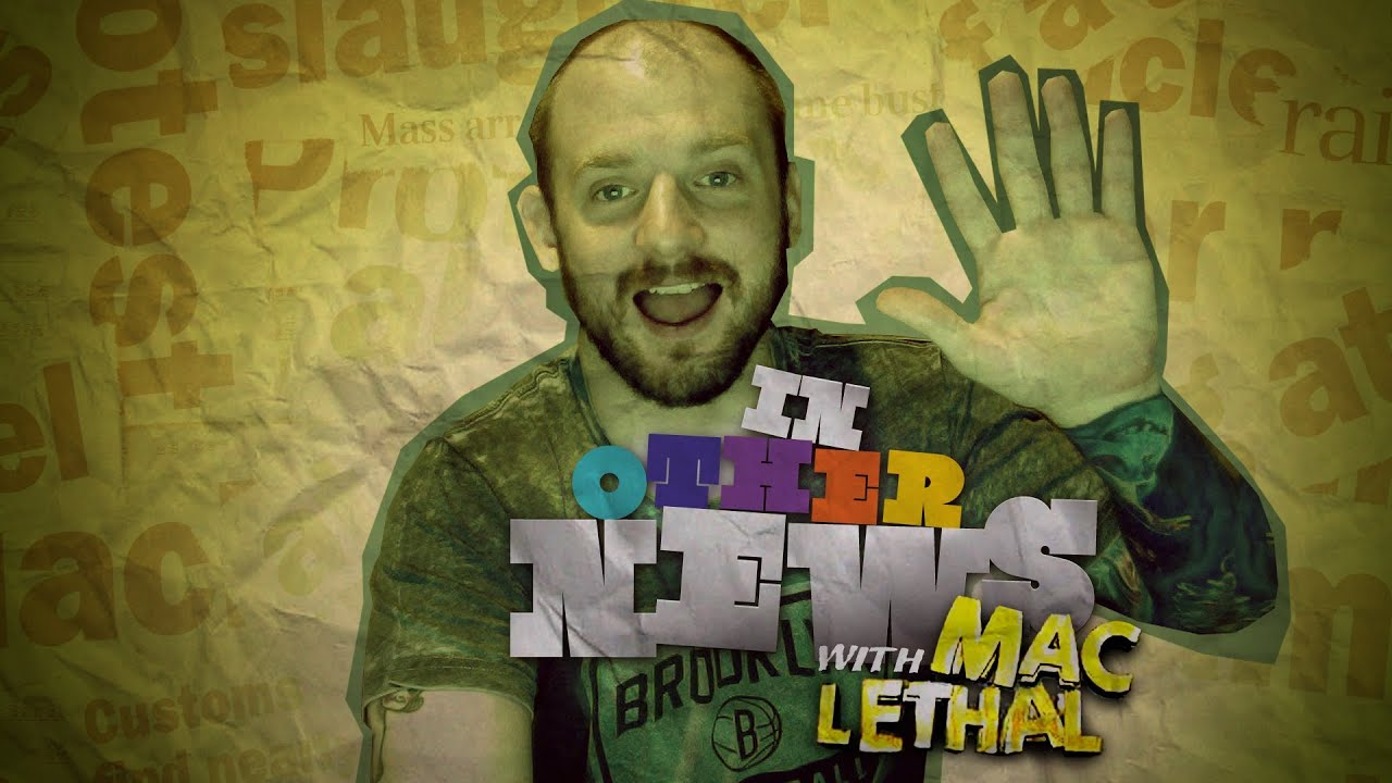 In OTHER News: Mac Lethal Fast Raps the News (Pilot Episode)