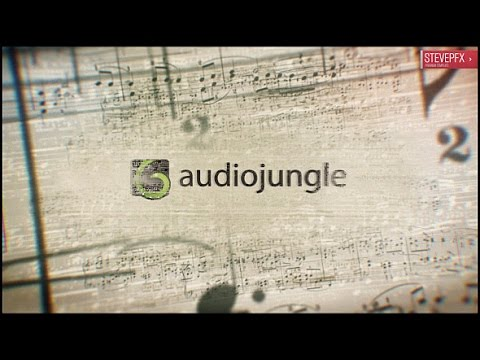 Music Notes Logo Reveal | After Effects template