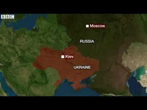 Malaysia plane 'crashes in Ukraine' 17 July 2014