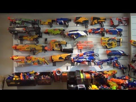 Nerfboyproductions nerf arsenal 2013 youtube - Nerf wallpaper ...