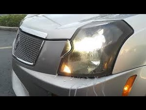 How To Replace A Headlight Bulb On 2005 Cadillac Cts