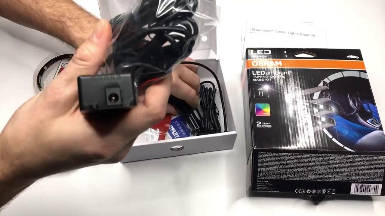 12 V Osram LEDINT201-SEC LED Ambient Tuning Lights Base Kit