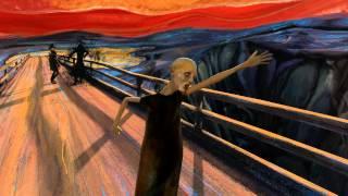 Le Cri dEdvard Munch prend vie sur une musique de Pink Floyd   Les Inrocks