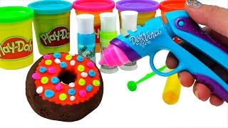play doh vinci how to make dippin dots donuts surprise spongebob hello kitty louie