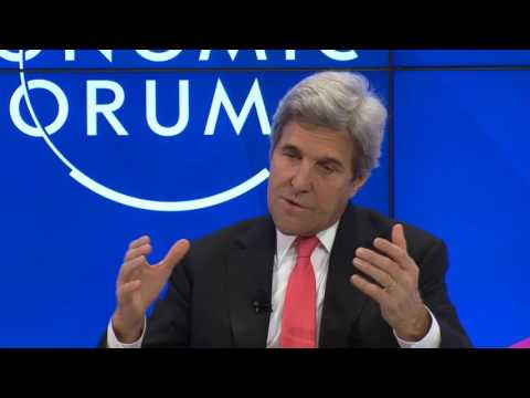 Davos 2017 - A Conversation with John Kerry Diplomacy in an Era of Disruption
