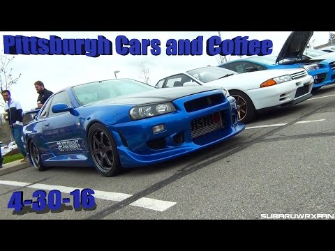 Pittsburgh Cars and Coffee 4-30-16