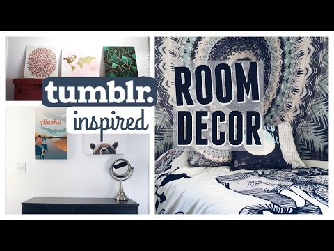 How to Decorate Your College Dorm Room | Tumblr Inspired Decor
