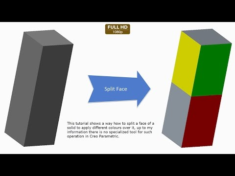 creo-parametric-||-splitting-a-face-of-a-solid-to-apply-different-colours-over-it
