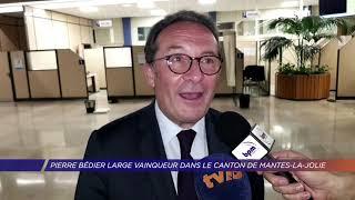 Yvelines | Pierre Bédier large vainqueur dans le canton de Mantes-la-Jolie