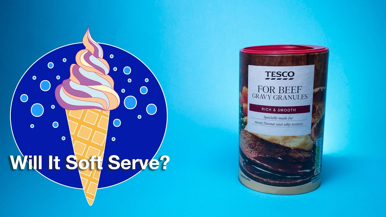 Youtube Thumbnail Image: Gravy - Will It Soft Serve?