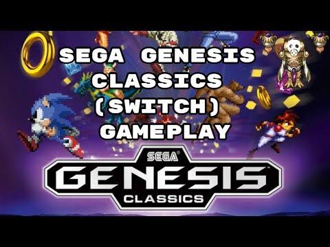 Sega Genesis Classics Collection (Switch) Gameplay - PsychoLavos thumbnail