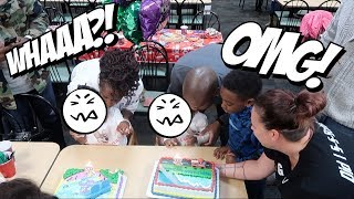 THE TWINS' CHUCK E CHEESE 2ND BIRTHDAY PARTY *EPIC FAIL*! (SERIOUSLY!)  😫😫👶🏽👶🏾