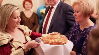 """Ведущая Наталья Терехова. Свадьба в ресторане """"Автограф""""."""