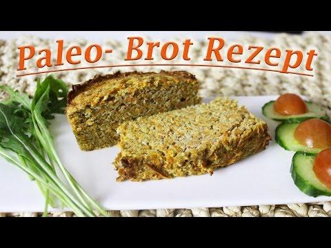 Brot selber machen | Paleo Brot | Glutenfrei backen | Vegetarisch | Einfach lecker