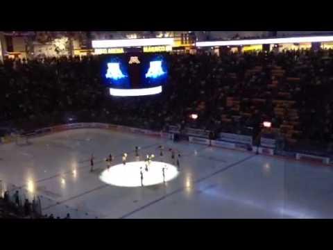 Gopher Hockey entrance 11/17