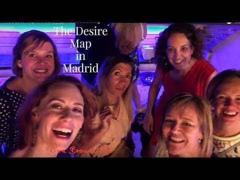 The Desire Map in Madrid met Nicole Offenberg