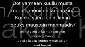 Mc mane - Vitun Teinit With Lyrics