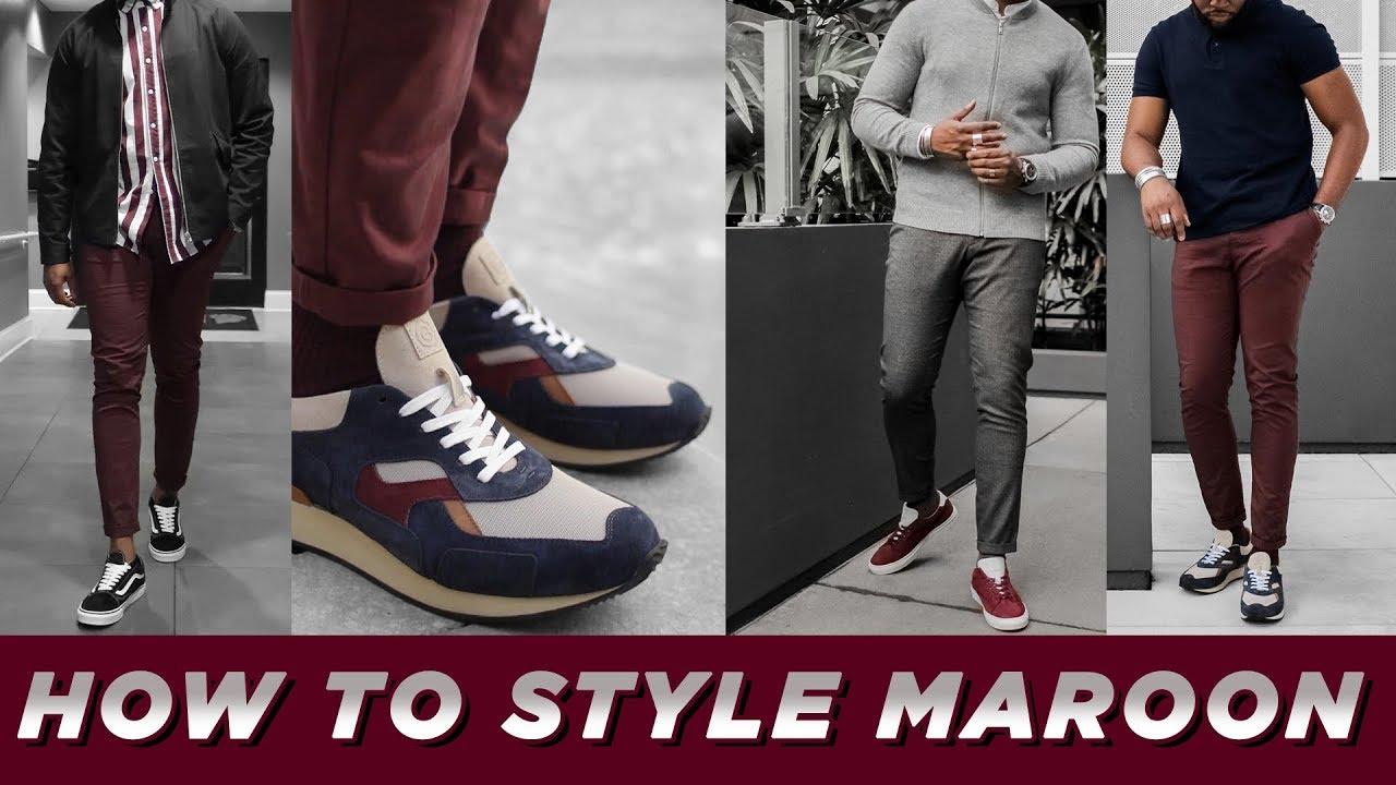 Style BURGUNDY | 3 Ways to Wear Maroon