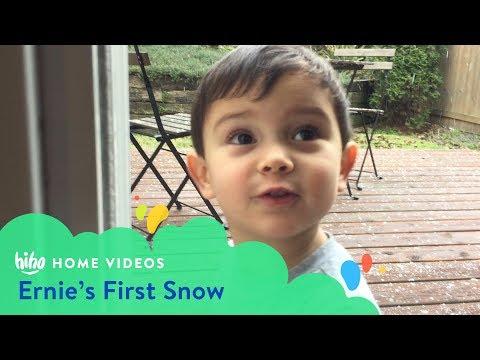 Ernie's First Snow | Home Videos | HiHo Kids