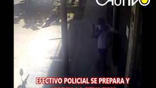 ASALTO FRUSTRADO POR VALEROSO POLICIA EN PUCALLPA