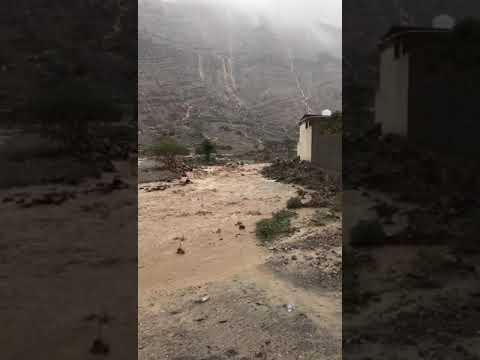 Wadi al Bih-Ras Al Khaimah 3/2/19 Rain enhancement