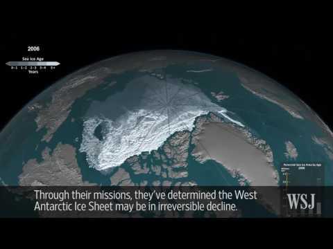 NASA: Antarctic Ice Declining...