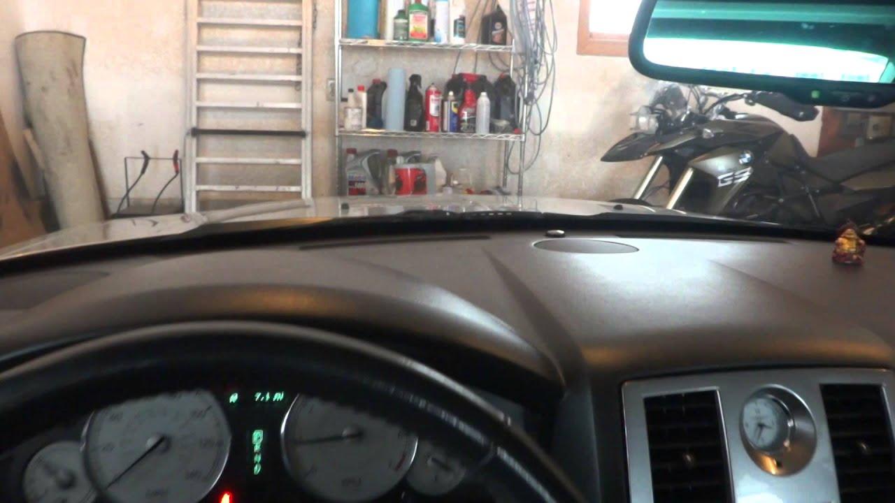 chrysler 300 windshield washer fluid sprayer fix