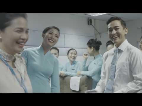 """Phóng sự: """"Một ngày làm tiếp viên của Vietnam Airlines"""" - T&A Ogilvy"""