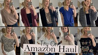 HUGE Amazon Try-On Haul | Fall Transition Clothes!