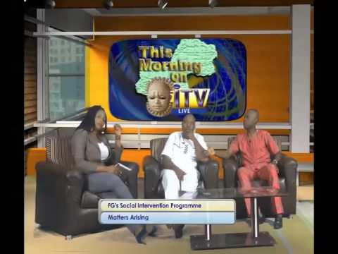 FG's Social Intervention Programme In Focus On This Morning On ITV