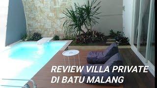 Gambar cover Review Villa Cendana 22 Batu   ada Private Pool 🏊