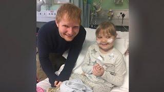Ed Sheeran Will Make You CRY As He Serenades Sick Fan