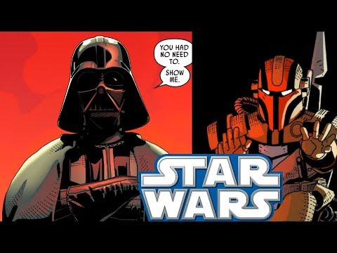 How a Bounty Hunter LIED to Darth Vader and What Happened(CANON) - Star Wars Comics Explained