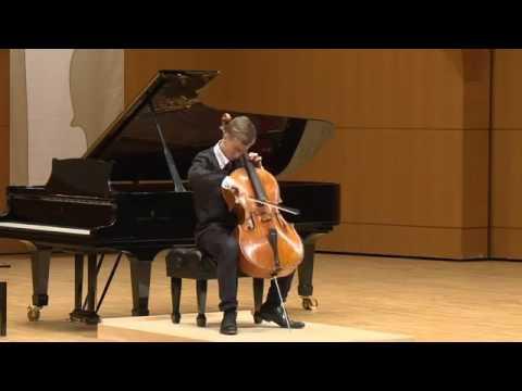 Jonathan Roozeman   Bach   Cello Suite No. 6   2013 Gaspar Cassado International Cello Comp