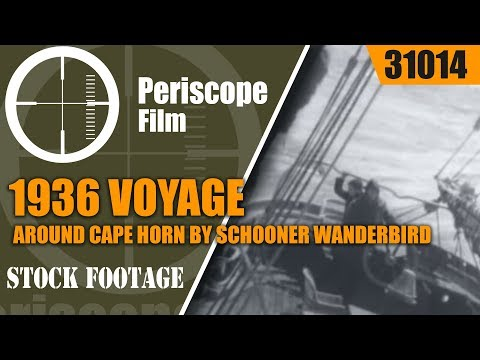 1936 VOYAGE AROUND CAPE HORN BY SCHOONER WANDERBIRD  31014