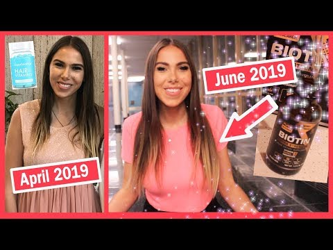 How I CLEARED MY SKIN & Grew My Hair 3 Inches in 2 Months!!  *no clickbait*