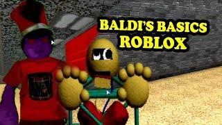 BALDI'S BASICS UPDATE | Baldi's Basics Roblox Map