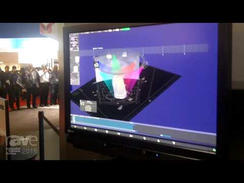ISE 2015: Panasonic Demonstrates the d3 Technologies Media Server Mapping on a Tesla