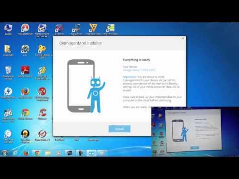 Como usar CyanogenMod Installer en tu Android para instalar CM Estable
