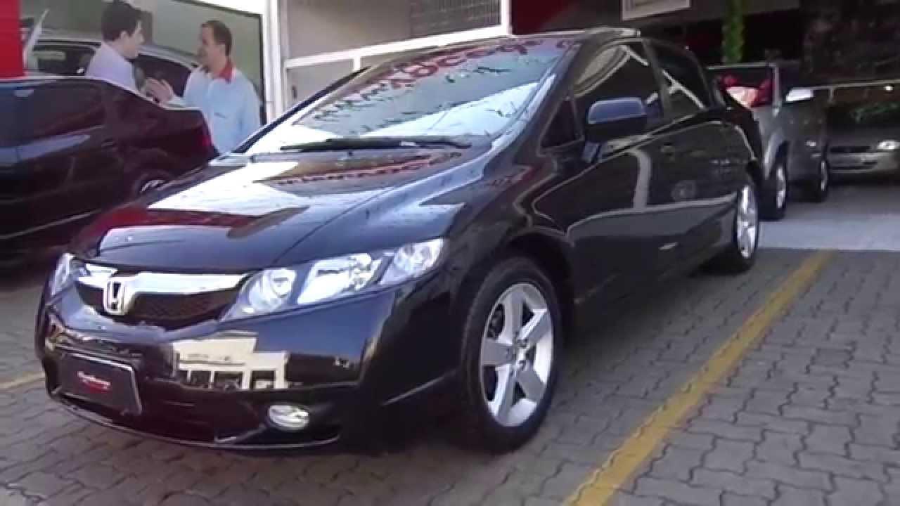 Honda Civic Lxs 1 8 16v Flex 2010 Youtube