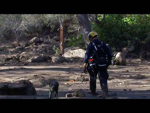Southern California's mudslide death toll climbs to 20