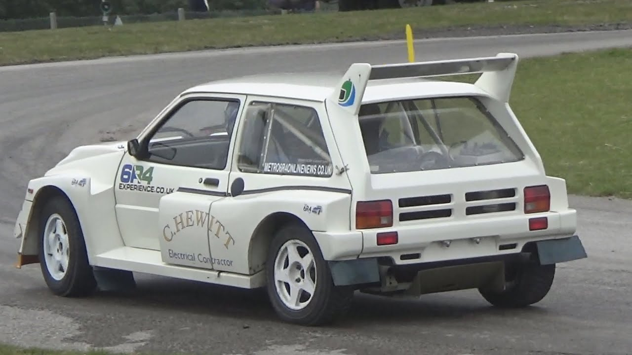 Mg 6r4 For Sale Mg Metro 6r4 Pure Engine Sound 2015 Oulton Park Gold