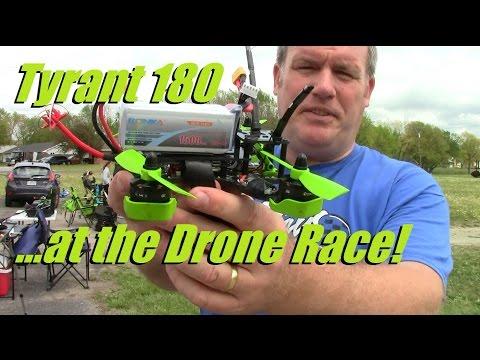 Tyrant 180 Flying at Topeka Drone Racing!